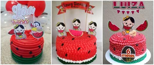 ideias de bolo Magali baby