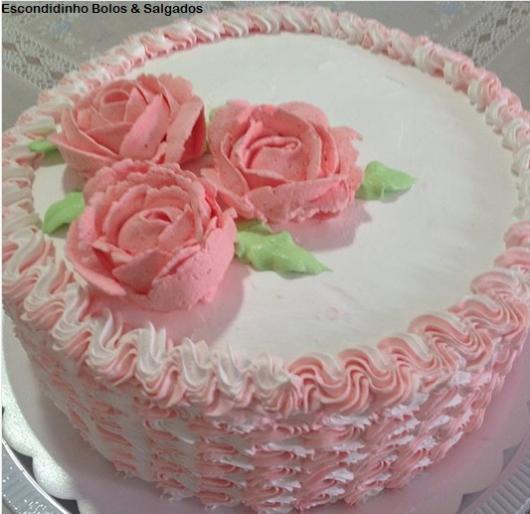 Bolo De Rosas 49 Ideias E Dicas De Decorações Encantadoras