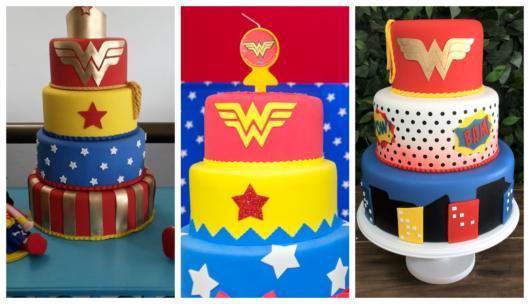 Fique por dentro de nossas dicas sobre bolo fake Mulher Maravilha