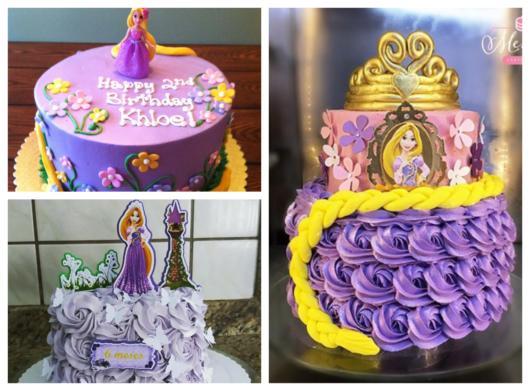 Os bolos da Rapunzel têm sido muito procurados
