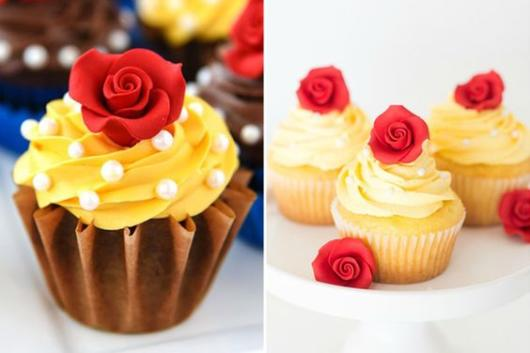 Como organizar uma festa de 15 anos: Cardápio com cupcake
