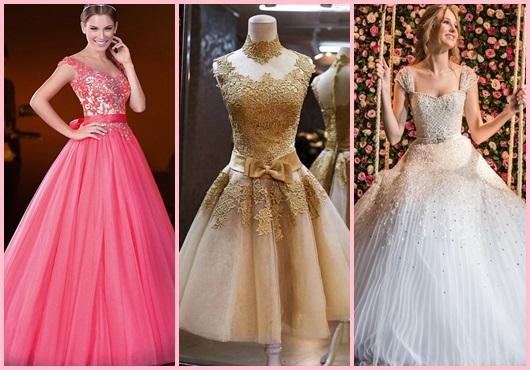 Como organizar uma festa de 15 anos: Modelos de vestidos