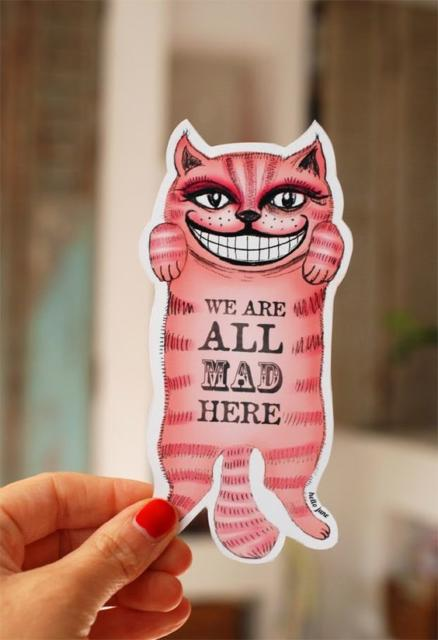 Convite Alice no País das Maravilhas: Gato risonho