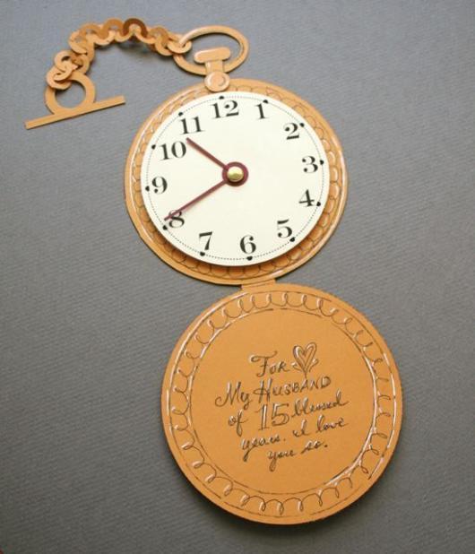 Convite Alice no País das Maravilhas: Relógio