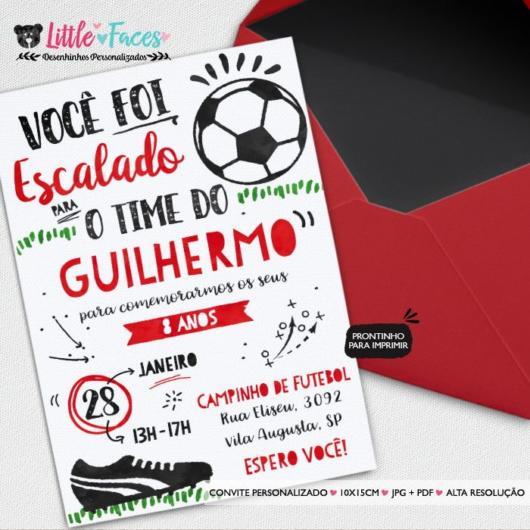 Convite Do Flamengo 40 Versões Incríveis ótimas Dicas