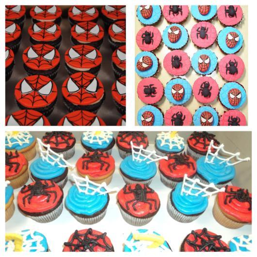 As melhores dicas para você produzir um cupcake Homem-Aranha sensacional!