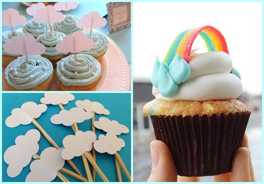 Cupcake Chuva de Amor: Modelos para se inspirar