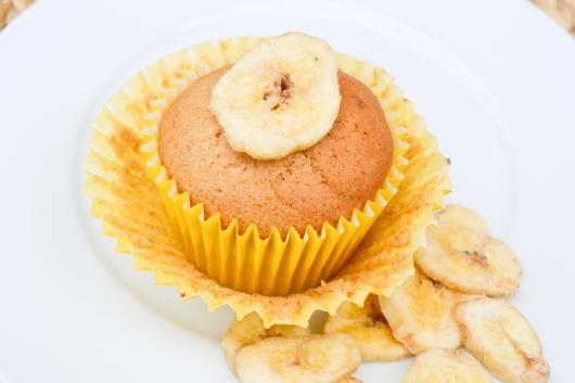 Cupcake simples de banana