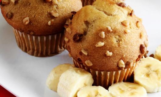 Surpreenda seus convidados com os cupcakes de banana