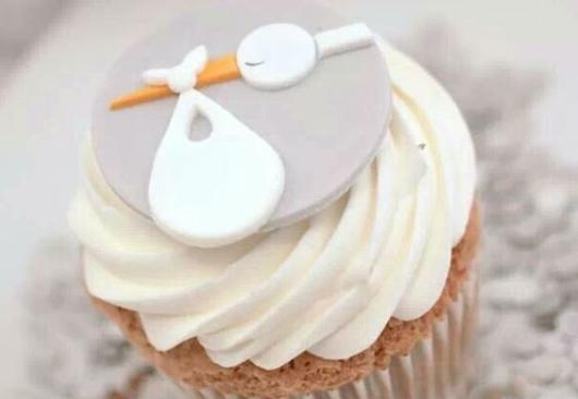 Doces para chá de bebê barato: Cupcake