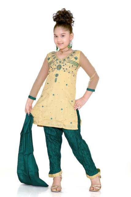 Fantasia indiana feminina infantil