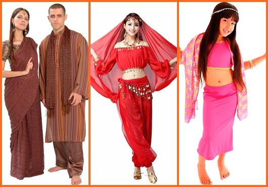 Fantasia indiana: Modelos para se inspirar