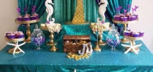 Festa Sereia: Luxo com tecido