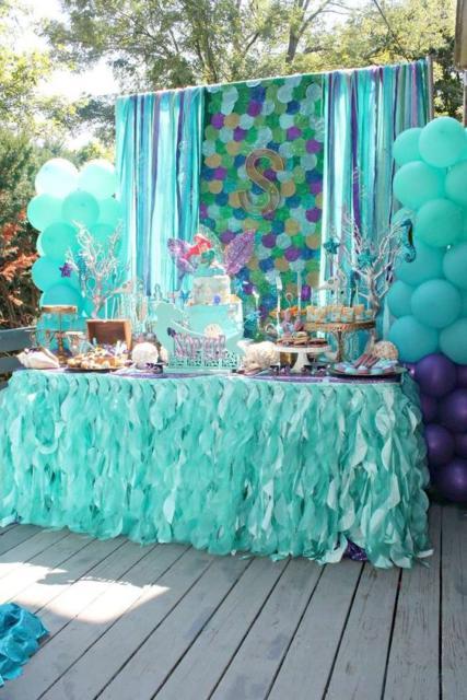 Festa Sereia 35 Decorações Super Lindas Dicas Especiais