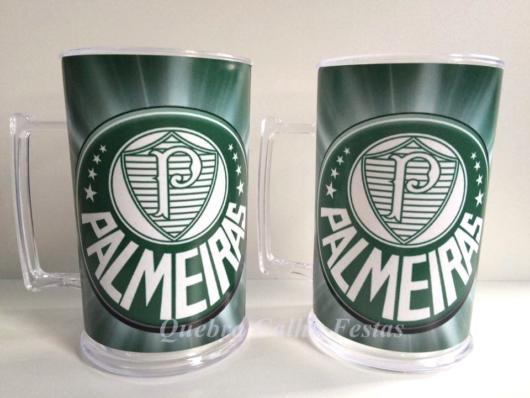 Taças e copos personalizados do time