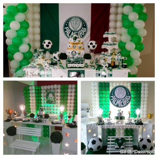 São várias ideias interessantes de decoração do Palmeiras, que tal se inspirar com esses estilos?