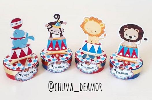 decoração cute festa circo