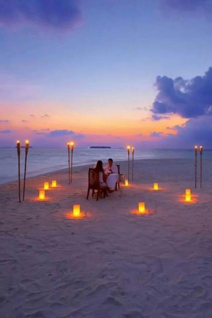 Surpresa de 1 ano de namoro: Jantar na praia
