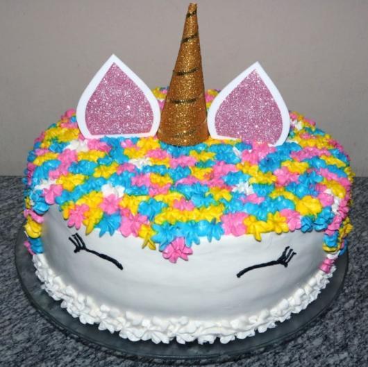 topo de EVA para bolo simples
