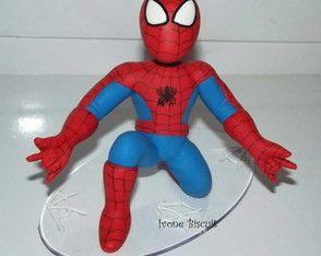 Topo de bolo: Homem-Aranha