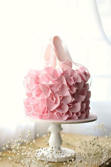 Topo de bolo: Bailarina