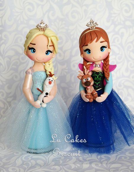 Topo de bolo: Frozen