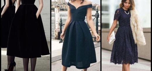 Vestido de festa midi: Modelos pretos