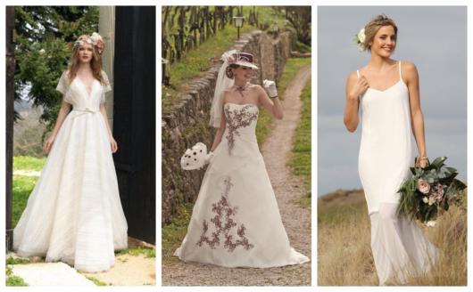 8c41fd5e0 Vestido de Noiva para Casamento no Campo  65 Modelos Maravilhosos
