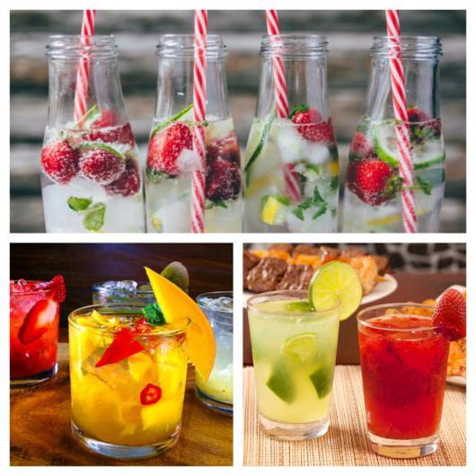 27 opções incríveis de coquetel de frutas para servir em sua festa!