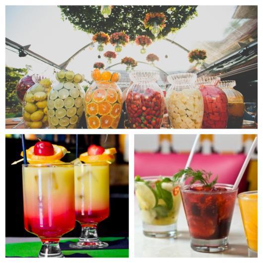 Coquetel de frutas para aniversários, casamentos e diversos tipos de festas