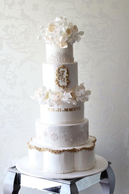 bolo de bodas de prata lindo falso