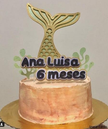 bolo mesversário