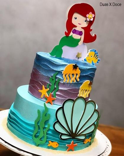bolo 2 andares Ariel