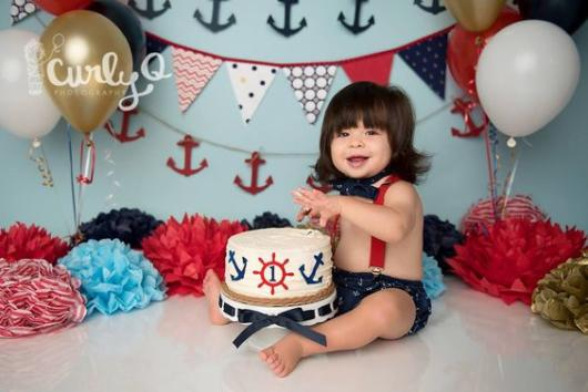 Bolo marinheiro: 1 ano