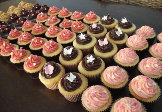 Comidas para chá de bebê: cupcake