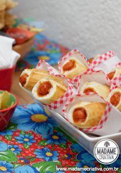 Comidas para Chá de Bebê a tarde: Hot Dog