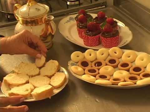 Comidas para Chá de Bebê: Biscoitinho