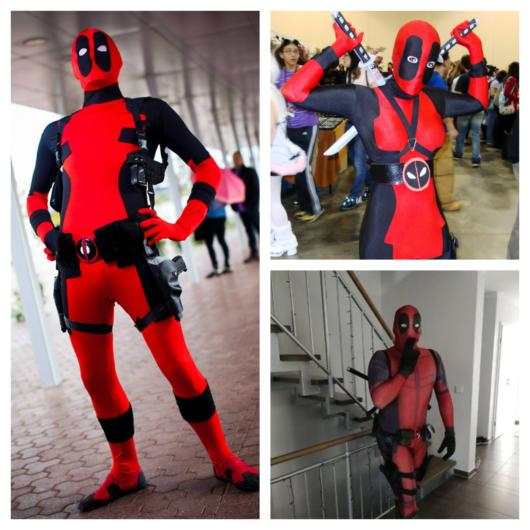 O anti-herói da Marvel faz o maior sucesso em festas e eventos de cosplay