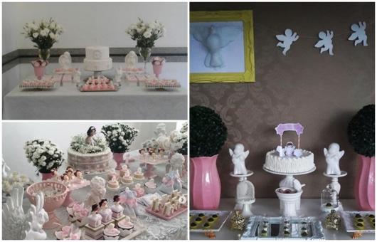 ideias de decoração de anjo para meninas