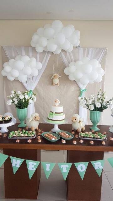 decoração ovelhinha