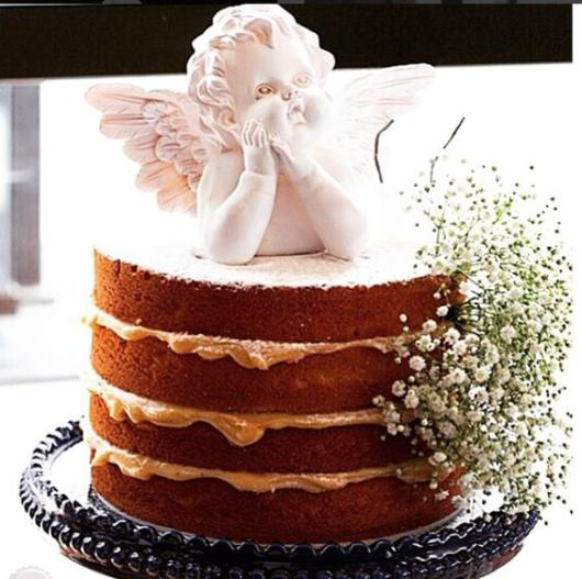naked cake decorado