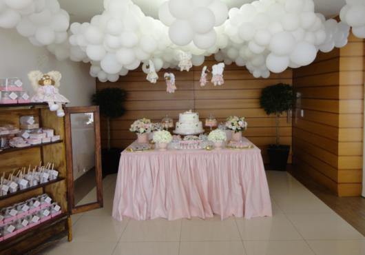 nuvens de balões