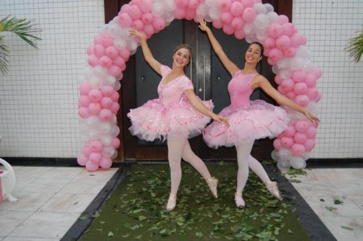 Fantasia com saia de tule: Bailarina