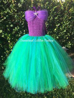 Fantasia com saia de tule: Sereia