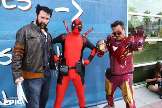 Deadpool + Wolverine + Iron Man