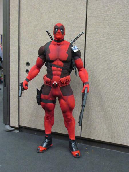 Deadpool fortão para dar um up em seu estilo!