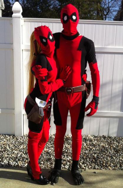 Fantasia Deadpool de casal: uma boa ideia para eventos de todos os portes