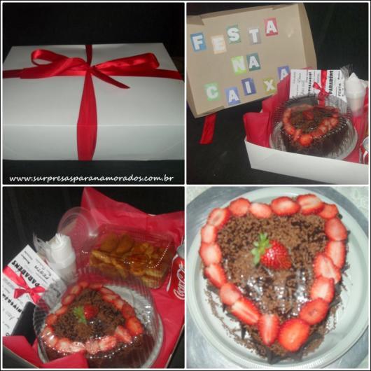 Prepare um lindo e delicioso bolo para surpreender seu amado