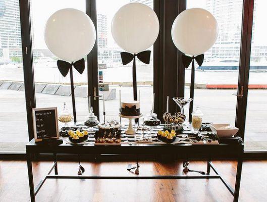 Festa Poderoso Chefinho: Decoração com balões