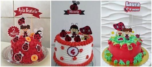 ideias para bolos simples de chantilly